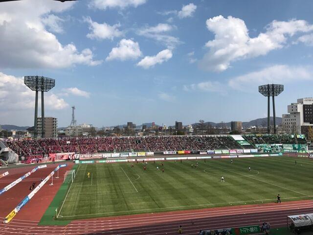 晴れの国のスタジアム