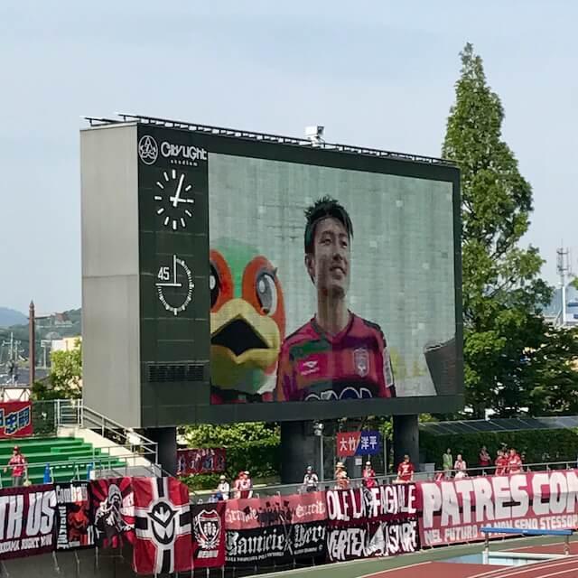 豊川選手のヒーローインタビュー。もう毎試合でもいいよ!