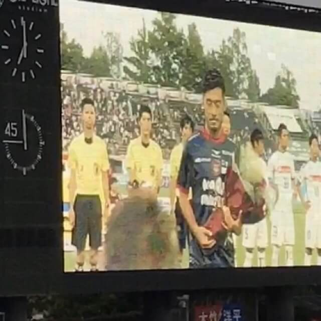 Jリーグ200試合出場、偉大!
